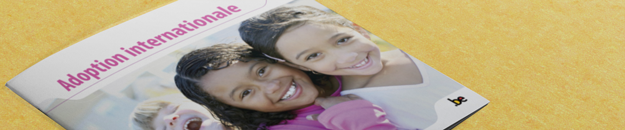 Cover brochure Adoption internationale